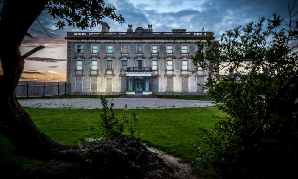 Loftus Hall surrounded by darkness