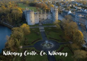 Kilkenny Castle with River Nore and Kilkenny City in background