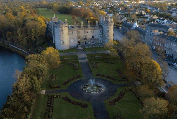 Kilkenny Castle Aerial Shot