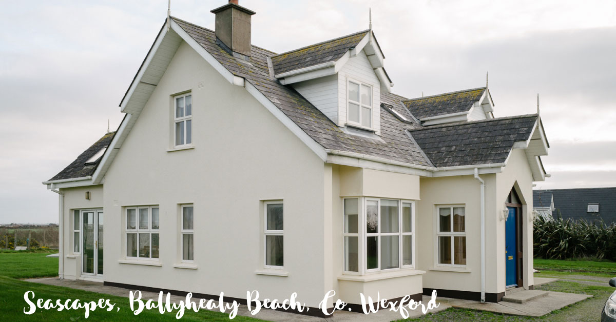 Seascapes Holiday Home at Ballyhealy Beach in Co. Wexford