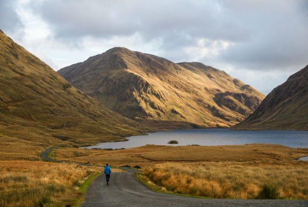 Mountains at Doolough Valley Co Mayo