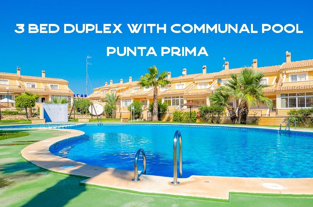 Duplex in Punta Prima Spain